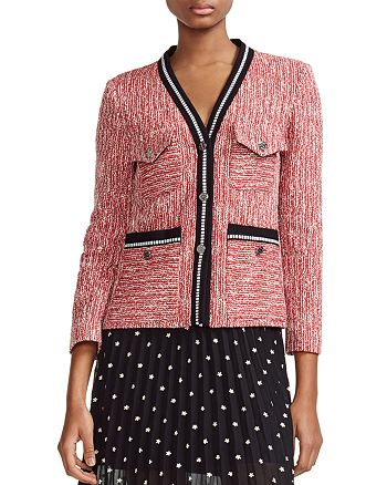 Maje - Vivor Tweed Jacket