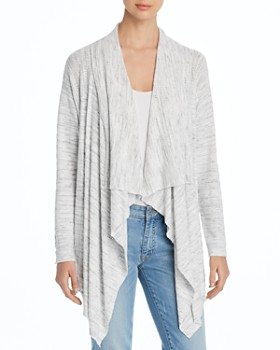 Cupio - Draped Open Cardigan