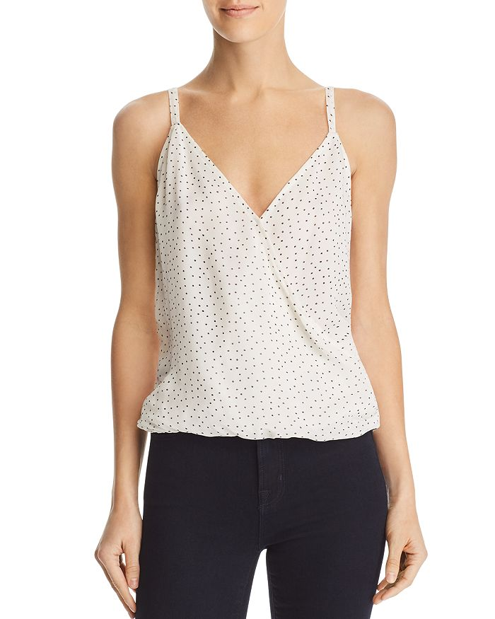 Red Haute - Crossover Draped Camisole Top
