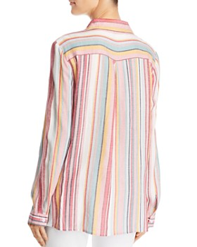 Velvet Heart - Striped Button Down Top