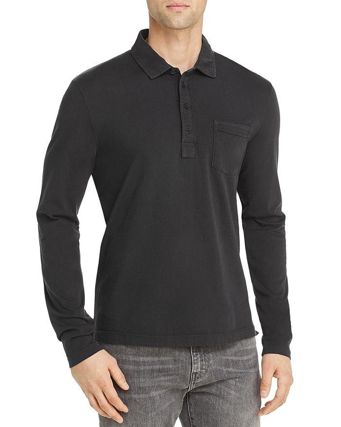 Billy Reid - Pensacolo Long-Sleeve Regular Fit Polo Shirt