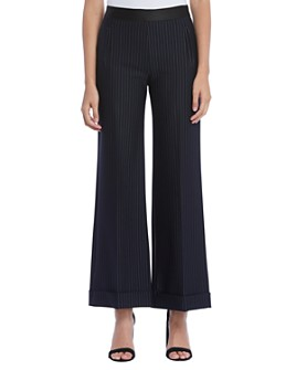 Bailey 44 - Grand-Pere Pinstriped Wide-Leg Pants