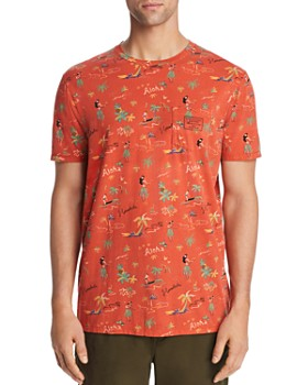 Scotch & Soda - Summer Hawaii-Print Tee