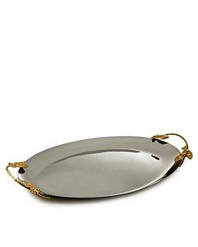 Michael Aram - Hydrangea Large Oval Tray - 100% Exclusive