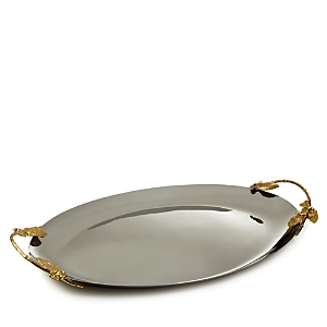 Michael Aram Hydrangea Large Oval Tray - 100% Exclusive-Home