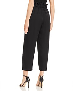 MILLY - High Waist Cropped Pants
