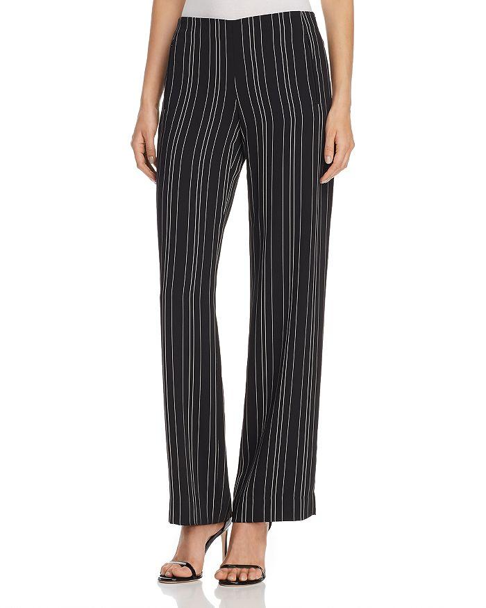Elie Tahari - Odette Striped Straight-Leg Pants