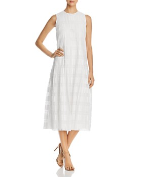 9d6e833b45b4 Lafayette 148 New York - Avalynn Sleeveless Checked Shift Dress ...