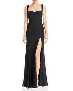 Fame and Partners - Cutout Mermaid Gown