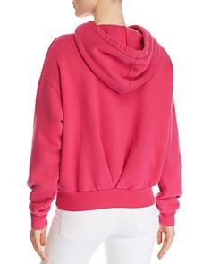 PAM & GELA - Pleat-Back Hooded Sweatshirt