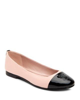 Adrianna Cap Toe Ballet Flats
