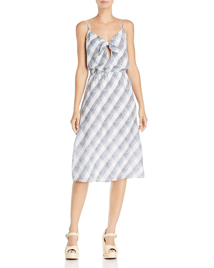 Joie - Abiah Plaid Silk Dress