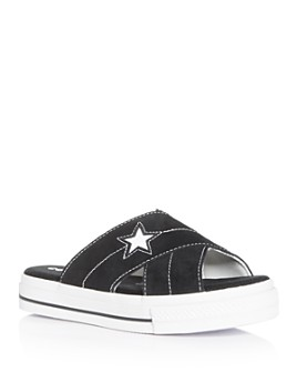 Converse - Women's One Star Slide Platform Sandals