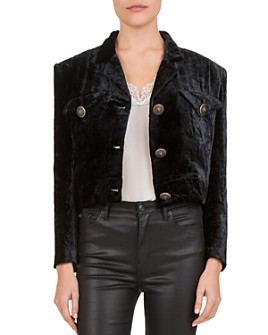 The Kooples - Crushed Velvet Jacket