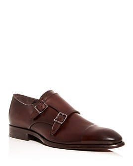 To Boot New York - Men's Capo Leather Double Monk-Strap Oxfords