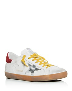 Golden Goose Deluxe Brand - Men's Distressed Nubuck Leather Low-Top Sneakers