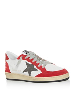 Golden Goose Deluxe Brand - Men's Distressed Leather Low-Top Sneakers