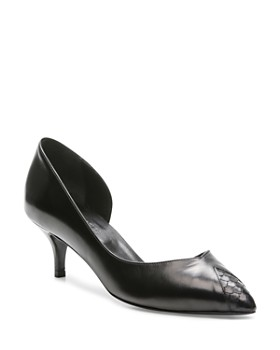 The Kooples - Women's Sanda Kitten Heel d'Orsay Pumps