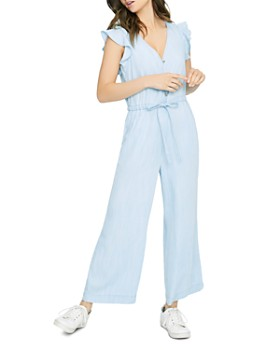 Sanctuary - Mica Chambray Wide-Leg Jumpsuit