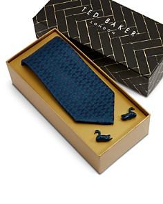 Ted Baker - Swaning Skinny Tie & Cufflink Set