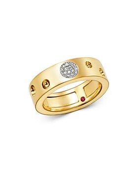 Roberto Coin - 18K Yellow Gold Pois Moi Luna Diamond Ring