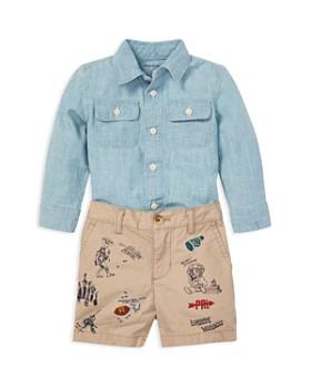 c3d45764891e Ralph Lauren - Boys  Chambray Shirt   Shorts Set - Baby ...
