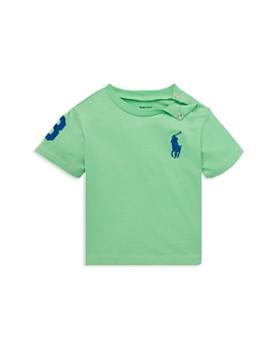 2e56cd260 Ralph Lauren - Boys' Cotton Jersey Crewneck Tee - Baby ...