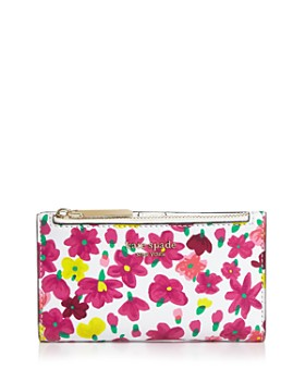 kate spade new york - Small Floral Bifold Wallet