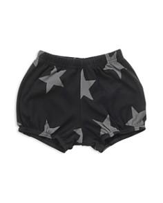 NUNUNU - Girls' Star Yoga Shorts - Baby