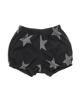 NUNUNU - Girls' Star Yoga Shorts - Baby