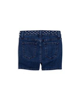 ag Adriano Goldschmied Kids - Girls' Jolie Studded-Waist Denim Shorts - Big Kid