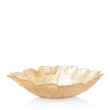 VIETRI - Moon Glass Leaf Medium Bowl