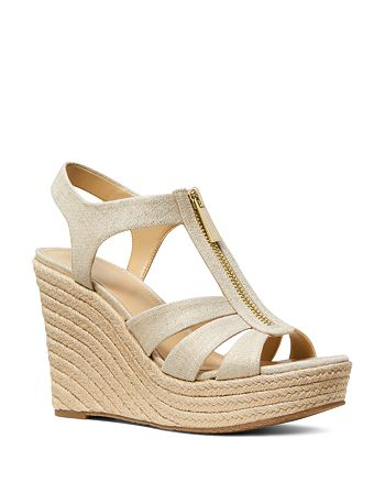 MICHAEL Michael Kors - Women's Berkley Espadrille Wedge Sandals