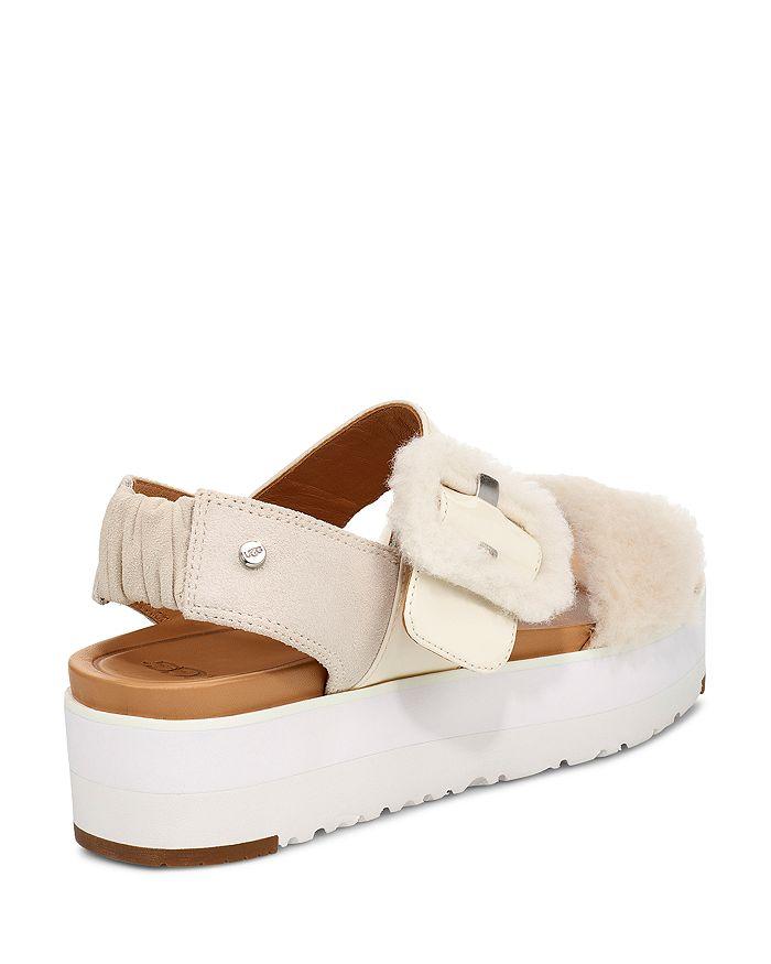 0e65ba163b UGG® Women's Le Fluff Platform Sandals | Bloomingdale's