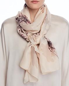 Max Mara - Rosetto Floral Silk Scarf