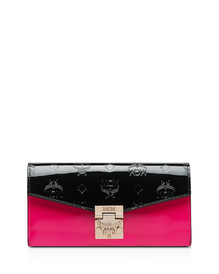 MCM - Patricia Large Monogrammed Chain Wallet