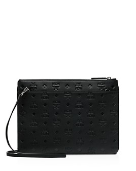 MCM - Klara Monogrammed Leather Crossbody
