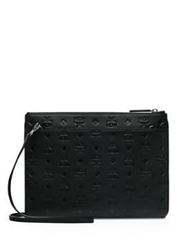 MCM - Klara Monogrammed Leather Crossbody