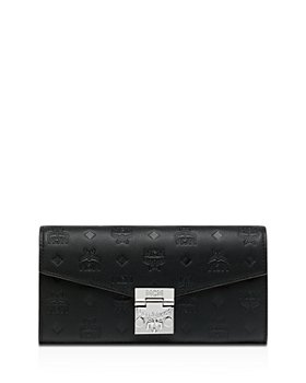 MCM - Patricia Monogram Leather Chain Wallet