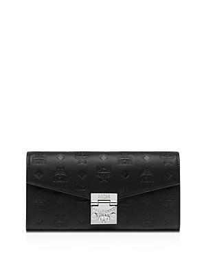 Mcm Patricia Monogram Leather Chain Wallet-Handbags