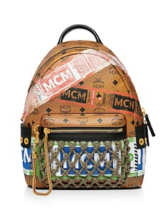 MCM - Stark Small Flight Print Backpack