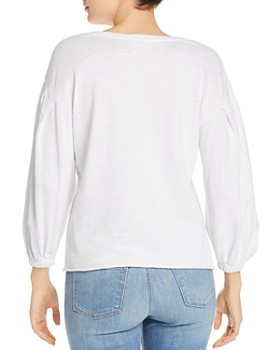 Nation LTD - Poppy Balloon-Sleeve Top