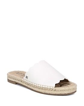Sam Edelman - Women's Andy Espadrille Slide Sandals