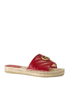 8a51f2fba Gucci - Women's Leather Espadrille Sandals ...