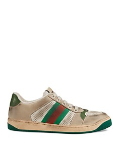 Gucci - Women's Screener Leather Sneakers