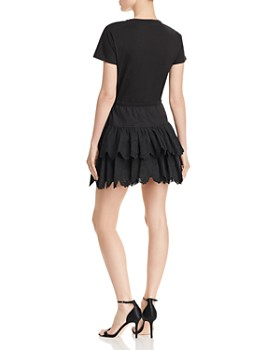 Rebecca Taylor - Embroidered Jersey Dress