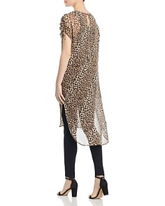 VINCE CAMUTO - Leopard-Print Tunic