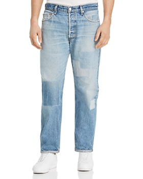 ATELIER AND REPAIRS - Detroit Cropped Relaxed Fit Jeans in Blue