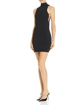 alexanderwang.t - Mock-Neck Mini Dress