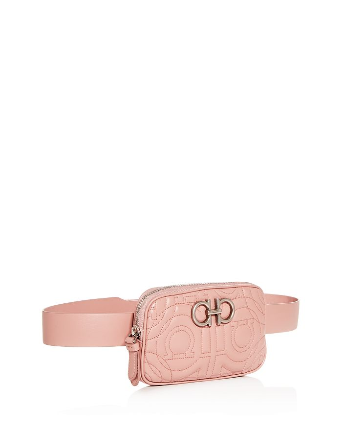 0b53c5f2db7e Salvatore Ferragamo - Gancio-Quilted Leather Belt Bag